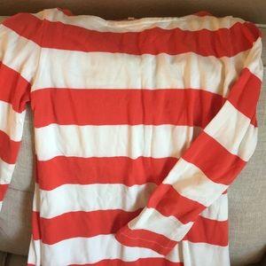 JCrew Striped Long Sleeve Dress